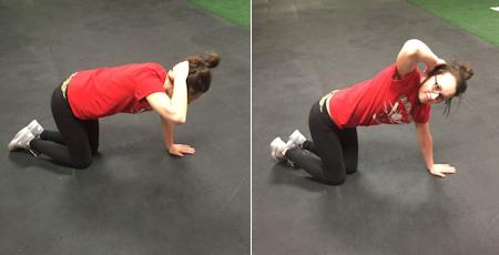 Kneeling Thoracic Rotations