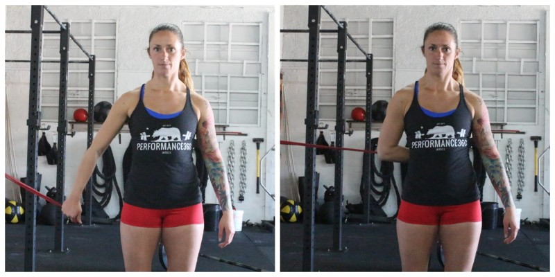 Handcuff Pulls Preventing Overhead Shoulder Injuries