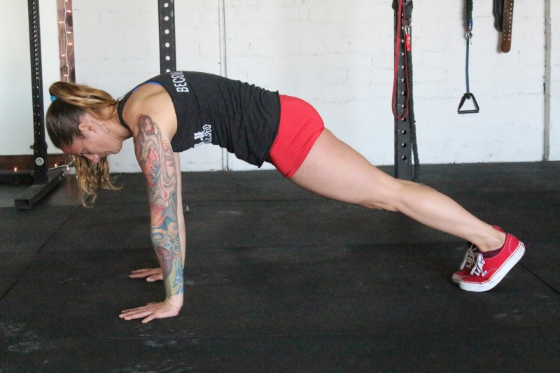 Protracted Push-Ups Preventing Overhead Shoulder Injuries
