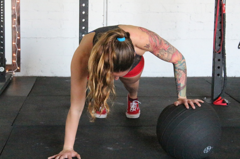 Medicine Ball Push-Ups Preventing Overhead Shoulder Injuries